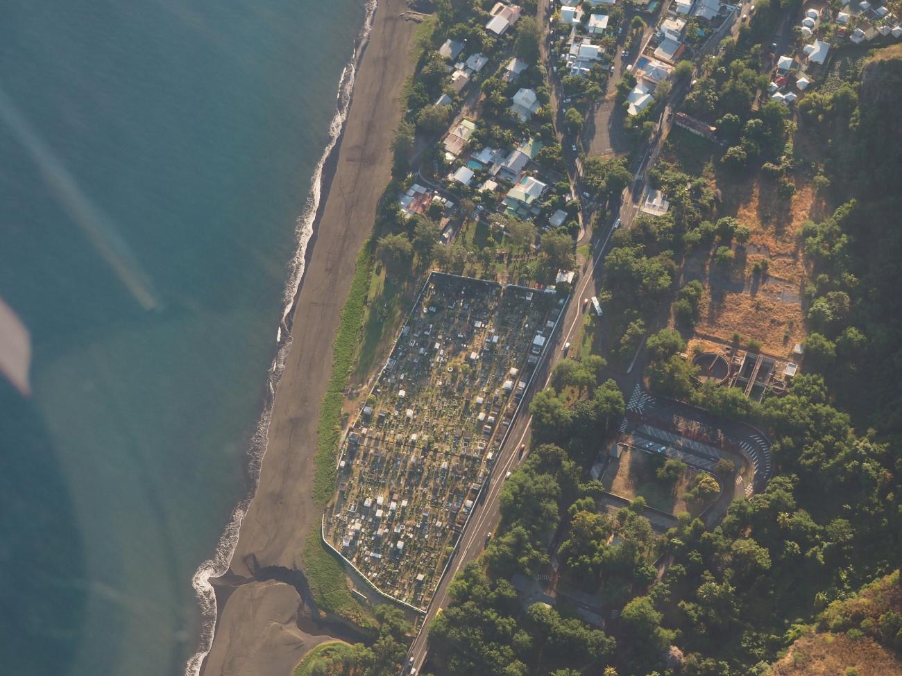 cimetière marin de Saint-Paul à la Réunion