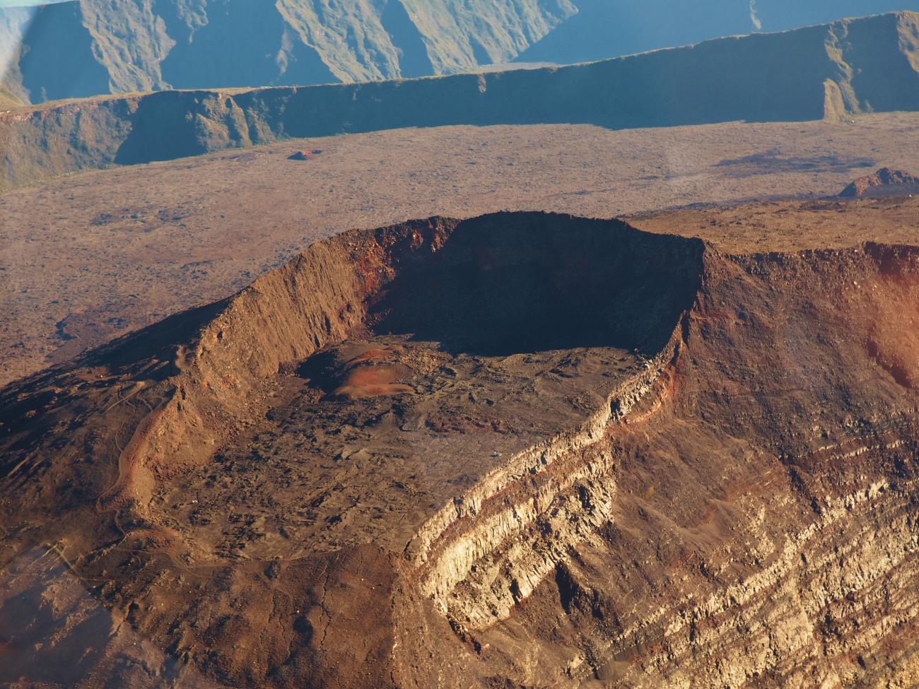 Cratère Bory du Piton de la Fournaise