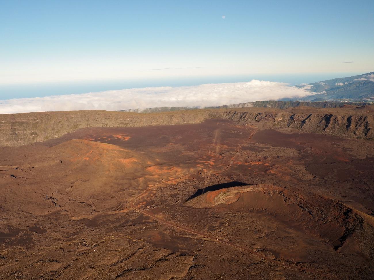 La Plaine des sables à la Réunion