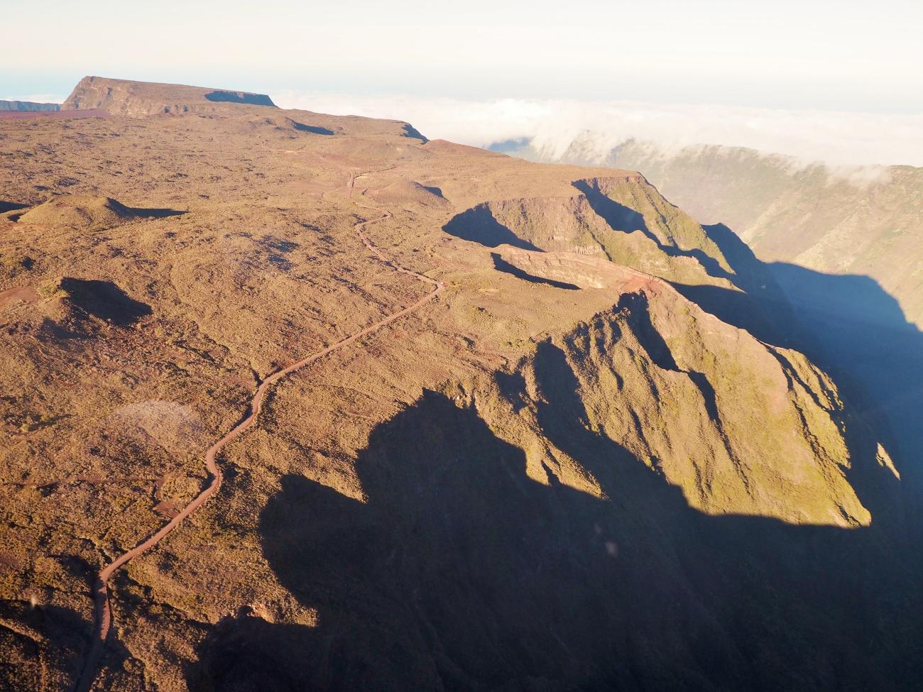 La Rivière des Remparts et la route du volcan