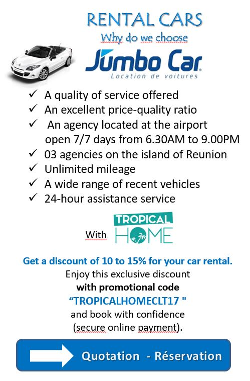 car rental reunion island