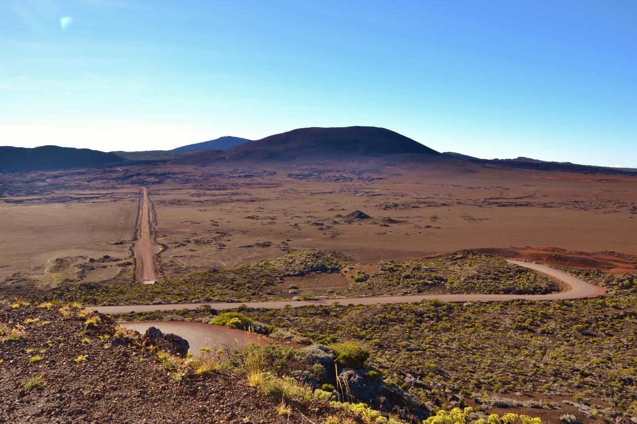 La plaine des Sables du volcan du Piton de la Fournaise