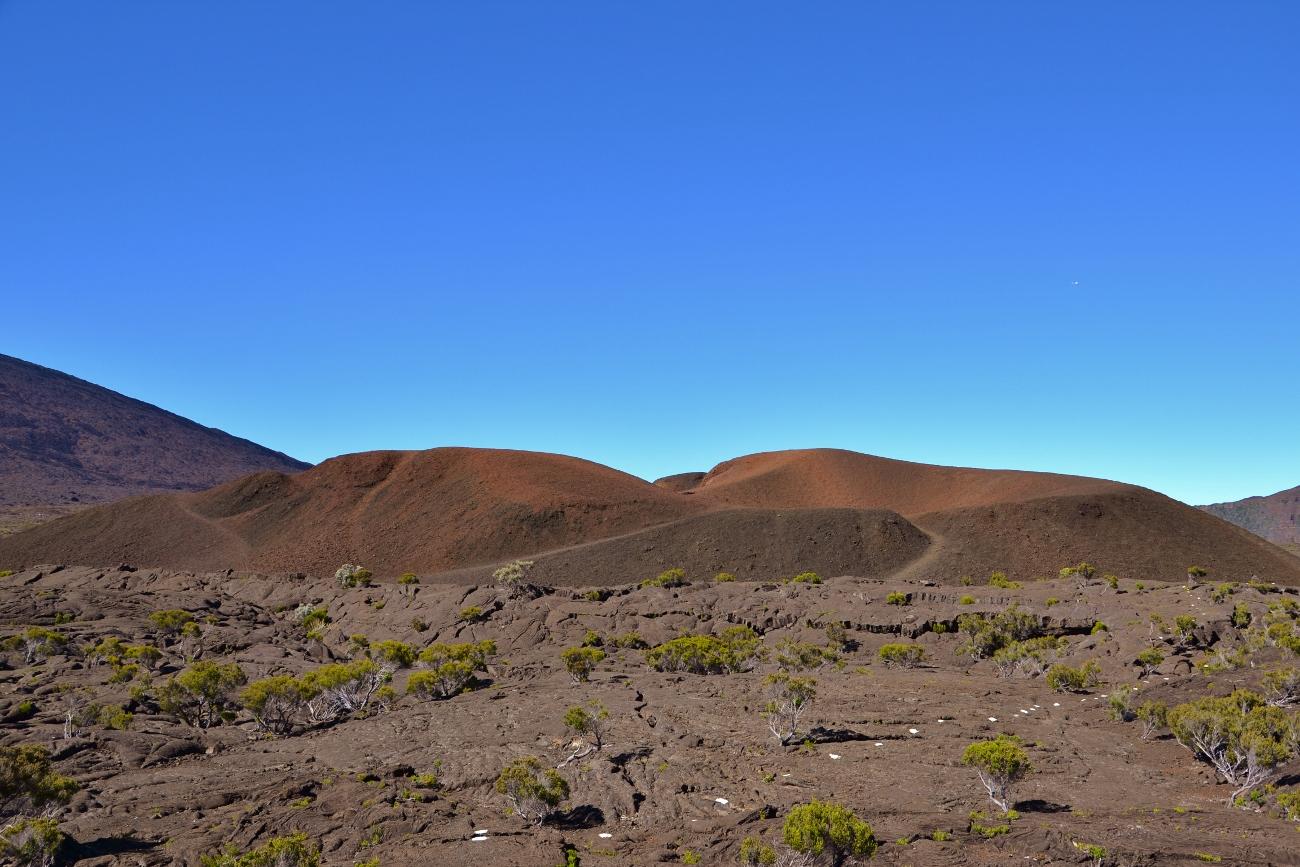 L'enclos Fouqué du volcan du Piton de la Fournaise
