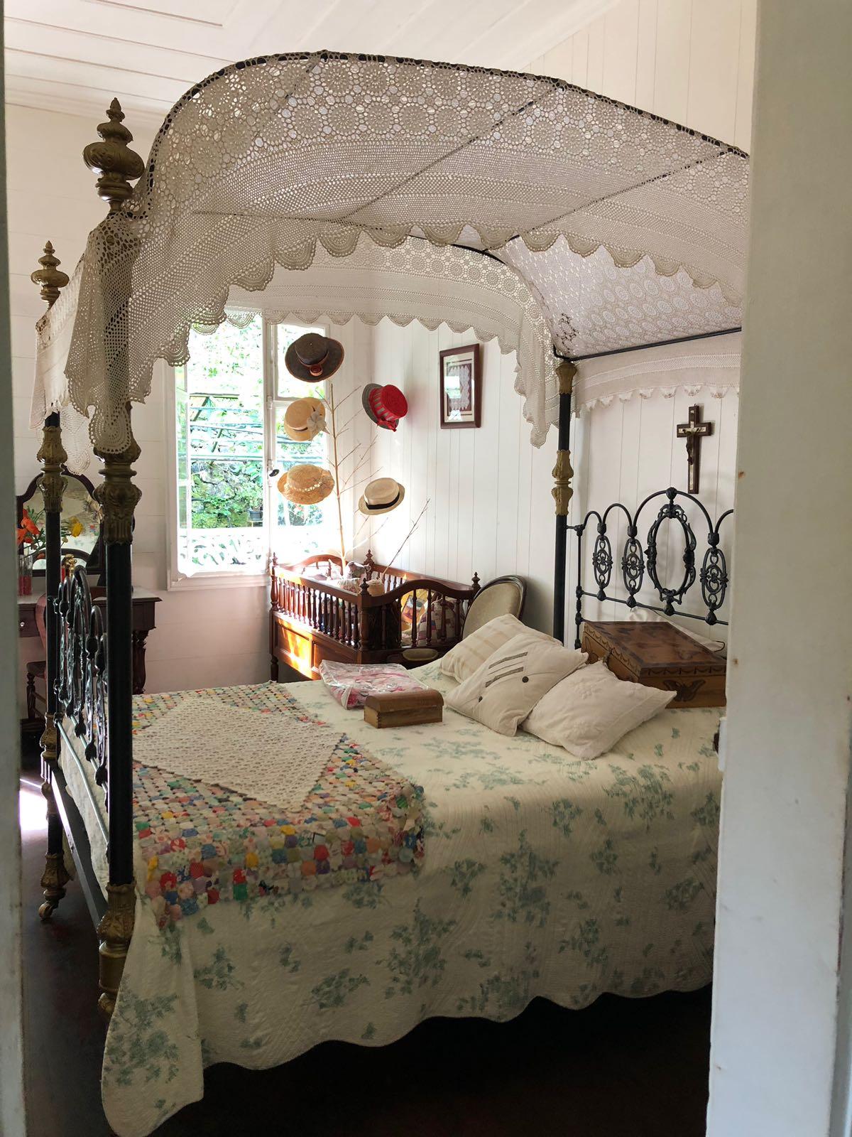 La maison folio à la Réunion et son intérieur