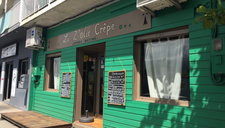 Le restaurant La Z'olie crêpe à Saint-Louis