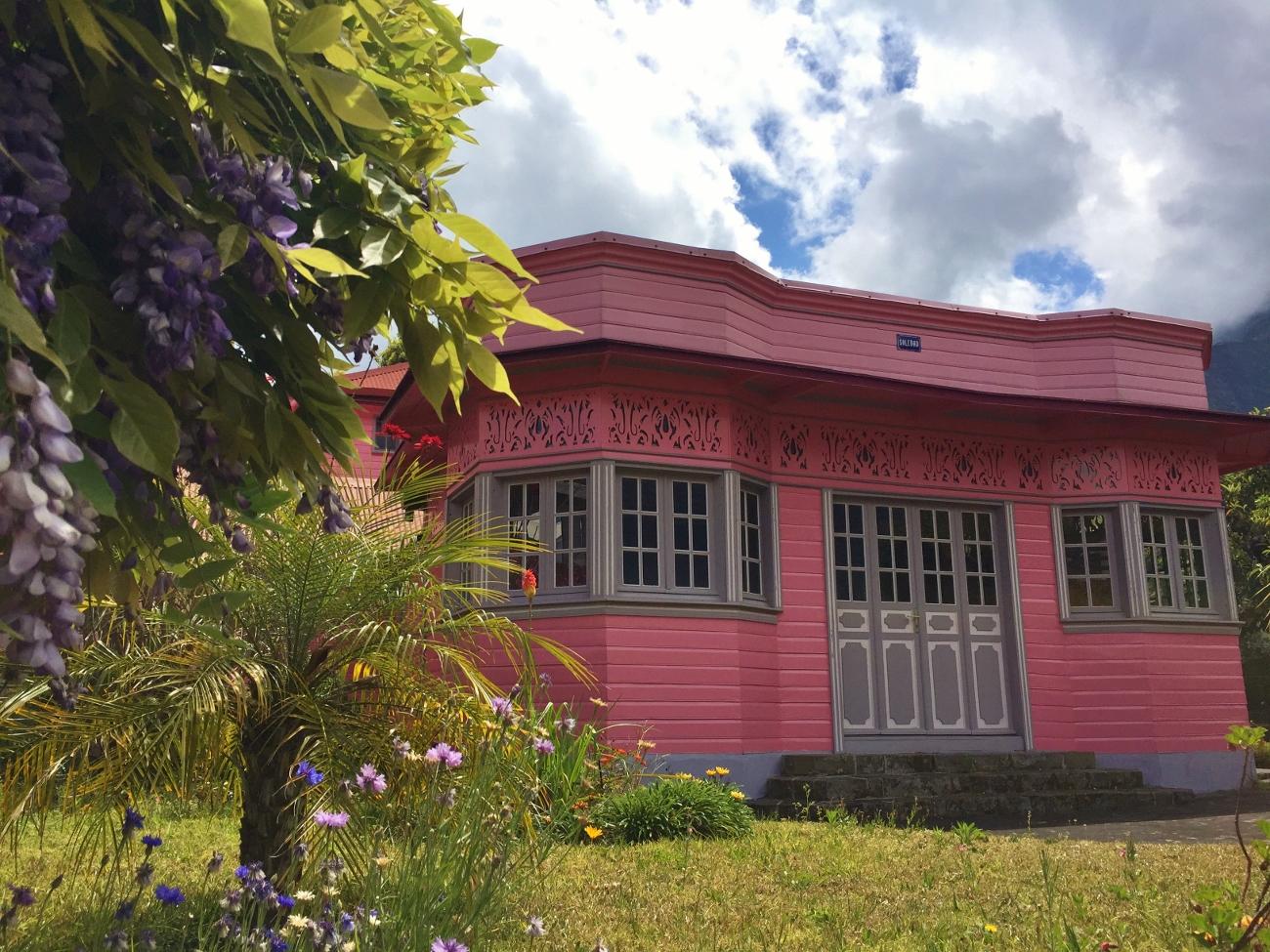 maison créole à Cilaos