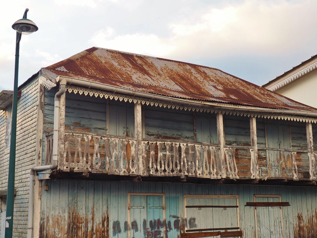 maison créole abandonnée à Cilaos