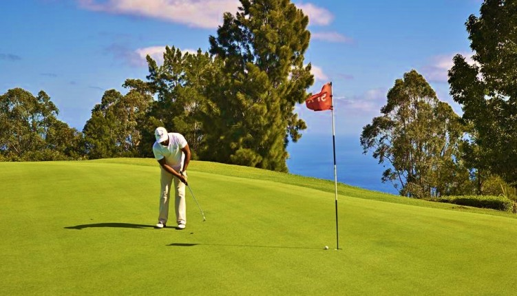 Practise golf in reunion island