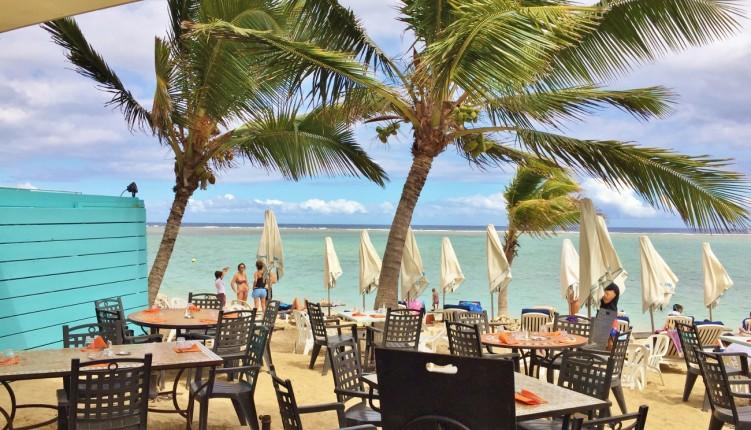 Le restaurant Le Copacabana à La Saline