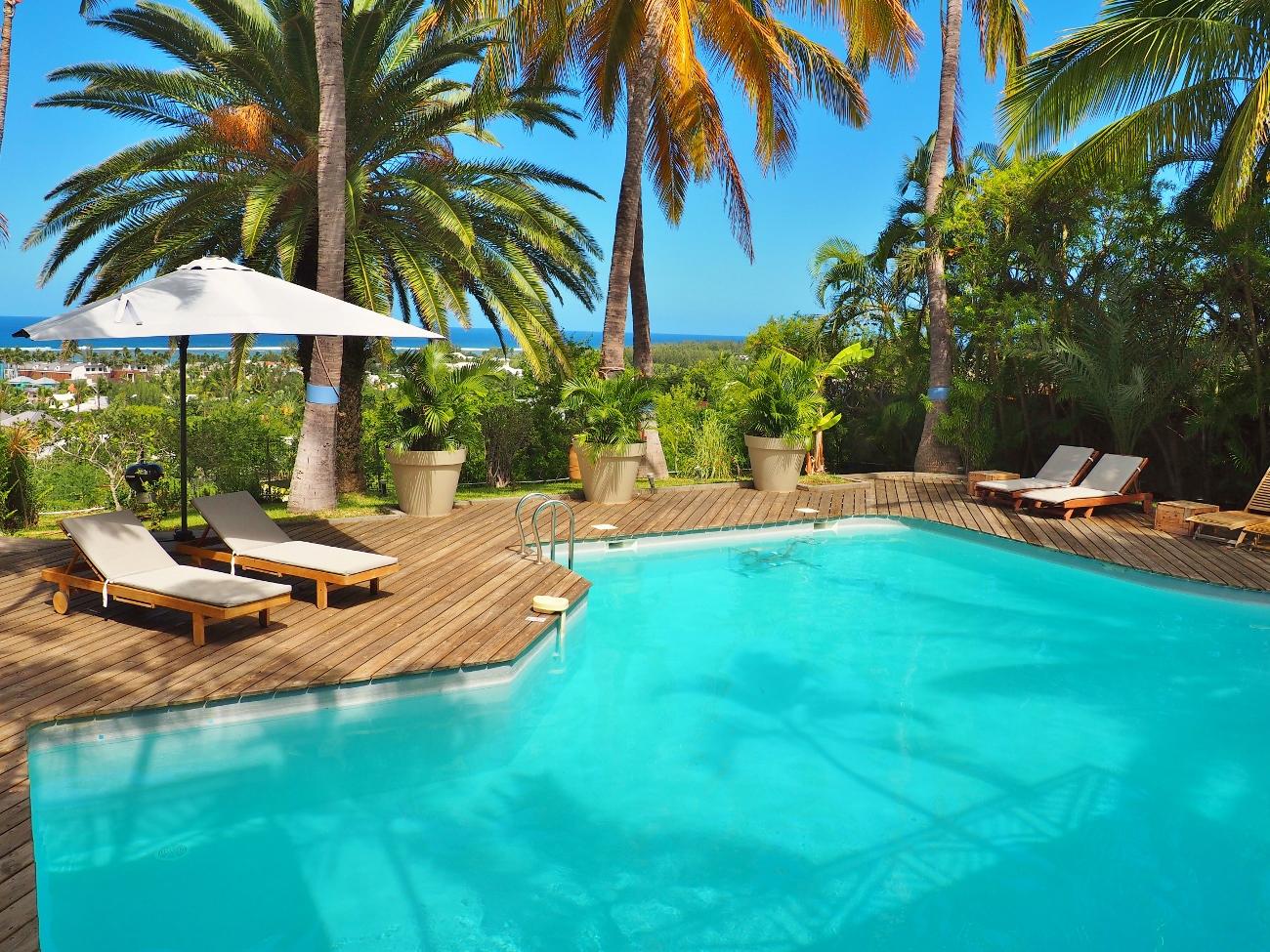 une maison de vacances à La Réunion