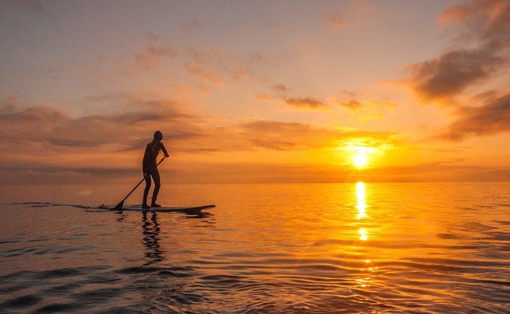 promenade en stand up paddle à la réunion