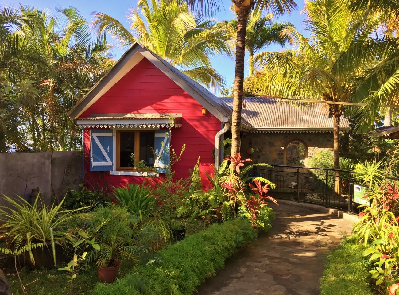 le jardin des tortues à la Réunion