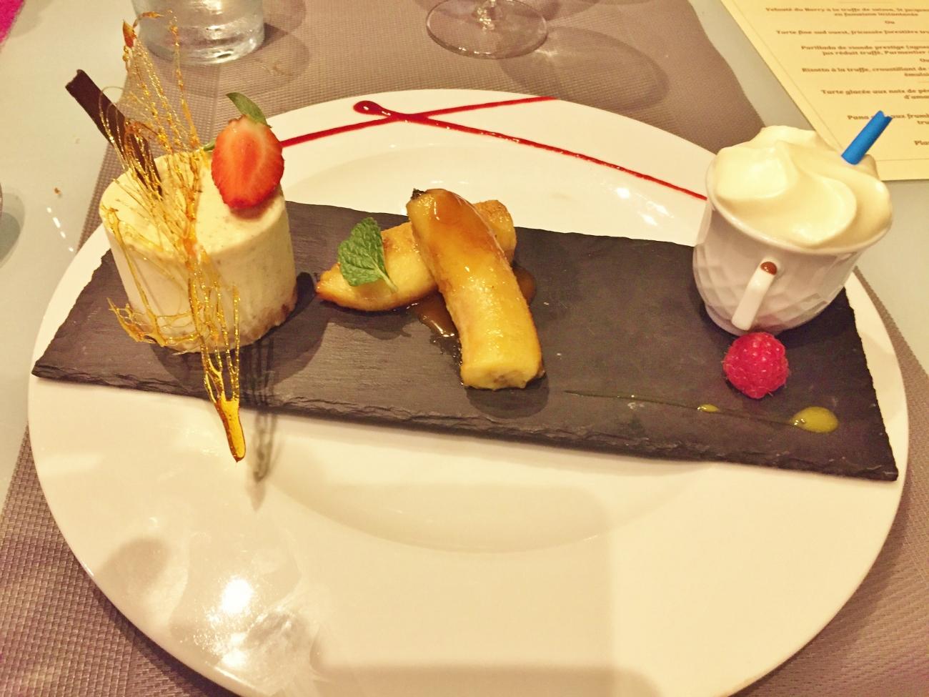 Dessert au restaurant l'ère des mets