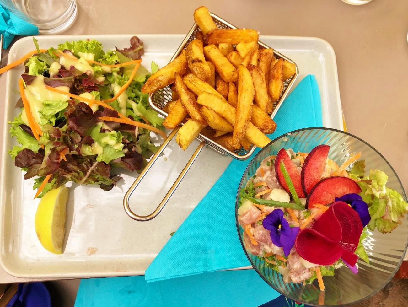 Restaurant La Varangue du Lagon à la Saline les bains