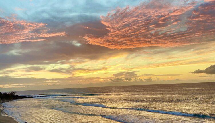 Sunset Boucan Canot Cap Homard